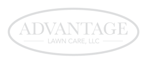 Advantage Lawn Care Logo White PNG